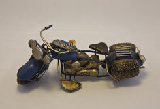 Miniature Motorcycle Royalty Free Stock Photos