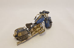 Miniature Motorcycle from Right Royalty Free Stock Photography
