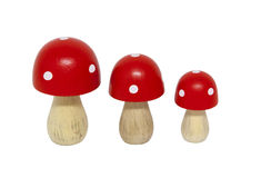 Miniature mushrooms Royalty Free Stock Photography