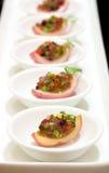 Miniature Nicoise Salad Stock Photos
