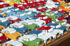Miniature oldsmobiles Stock Image