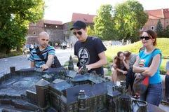 Miniature palace Krakow Royalty Free Stock Photos