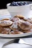 Miniature Pancakes Stock Image