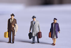 Miniature people Stock Image