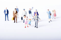 Miniature people Royalty Free Stock Photos