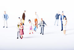 Miniature people Stock Photos