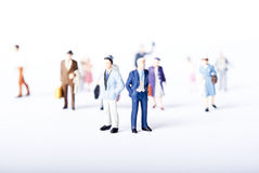 Miniature people Royalty Free Stock Images