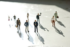 Miniature people Stock Images