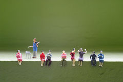 Miniature peoples Royalty Free Stock Images