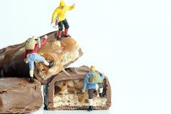 Miniature peoples Stock Image