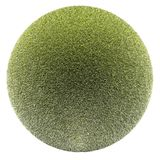 Miniature planet with grass meadow vegetation Stock Photography