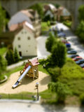 Miniature Playground Stock Photo