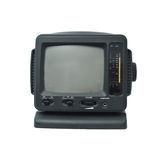 Miniature Portable TV Royalty Free Stock Images
