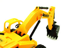 Miniature powerful shovel-loader Stock Images