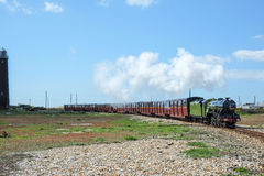 Miniature railway at Dungeness, Kent, UK Stock Image