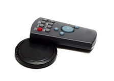 Miniature remote controls Stock Images