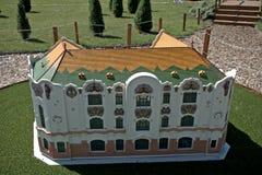 Miniature replica of Czifra Palace in Kecskemet, Szarvas, Hungar Royalty Free Stock Photos