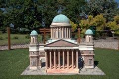 Miniature replica of Esztergom Basilica, Szarvas, Hungary Stock Photography