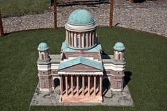 Miniature replica of Esztergom Basilica, Szarvas, Hungary Royalty Free Stock Photos