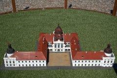 Miniature replica of Godollo Castle, Szarvas, Hungary Stock Photo