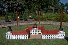 Miniature replica of Godollo Castle, Szarvas, Hungary Stock Photos
