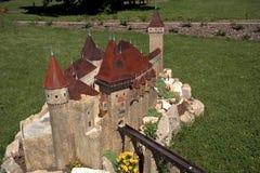 Miniature replica of Hunedoara Castle, Szarvas, Hungary Stock Photography