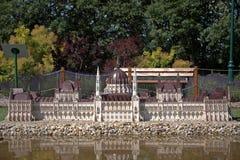 Miniature replica of the Hungarian parliament building, Szarvas, Royalty Free Stock Photo