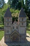 Miniature replica of Jak Church, Szarvas, Hungary Royalty Free Stock Photos