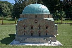 Miniature replica of a mosque in Pecs, Szarvas, Hungary Royalty Free Stock Photos