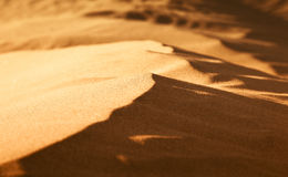 Miniature Sand Dunes Stock Photography