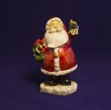 Miniature Santa Claus Stock Images