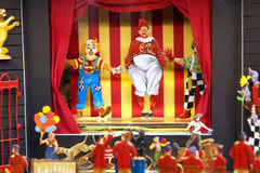 Miniature scene - Circus Royalty Free Stock Images
