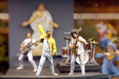 Miniature scene - Queen Stock Photo