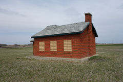 A miniature schoolhouse Royalty Free Stock Photo