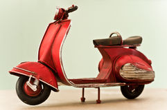 Miniature scooter Royalty Free Stock Image