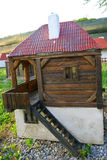 Miniature of Serbian native farm house Stock Photography