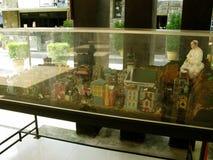 Miniature Set, National Shrine of Divine Mercy in Marilao, Bulacan Stock Photo