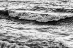 Miniature Shoreline And Ocean Waves Stock Photography