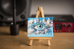 Miniature Surreal Art Stock Photo
