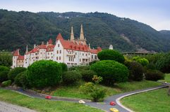 Miniature switzerland royalty free stock image