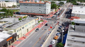 Miniature timelapse stock video footage