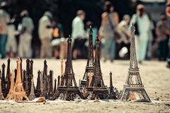 Tower Paris sale. Miniature tower Paris sale. See my other works in portfolio stock image