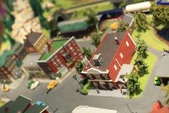 Miniature town Stock Photos