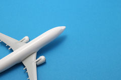 Miniature of toy airplane. Stock Image