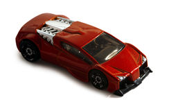 Miniature toy car. This image contains a clipping path Royalty Free Stock Image