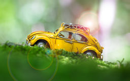 Miniature toy car Royalty Free Stock Images