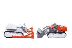 Miniature Toy Farm Vehicles Royalty Free Stock Image