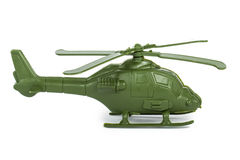Miniature Toy Helicopter stock photo