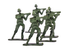 Miniature Toy Soldiers Royalty Free Stock Photo