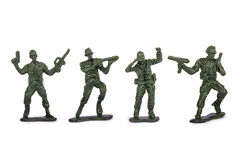 Miniature Toy Soldiers Stock Photos